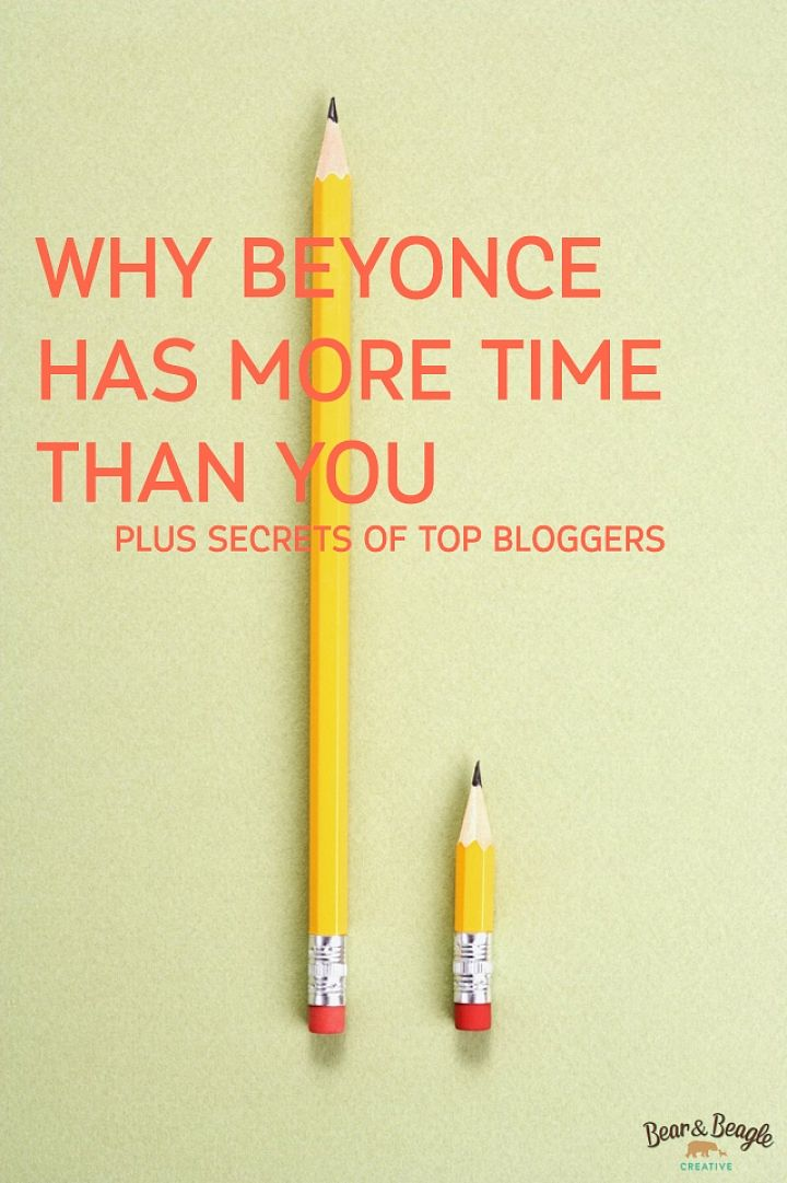 Bloggers, You're Not Beyonce (And That's Okay!) - Bear & Beagle Creative