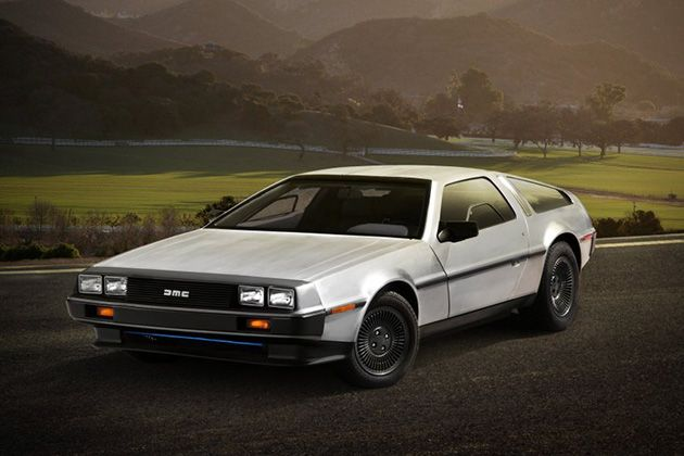 All-Electric DeLorean DMC-12 EV 2