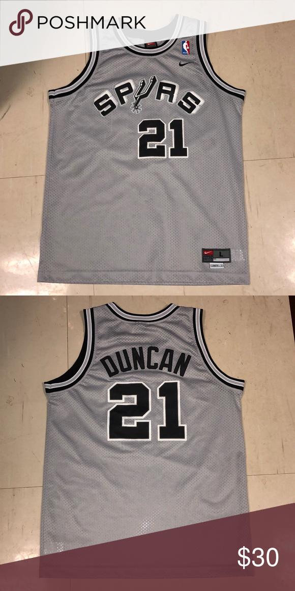 big sale 92542 67afc Nike San Antonio Spurs Tim Duncan Jersey Nike San Antonio ...