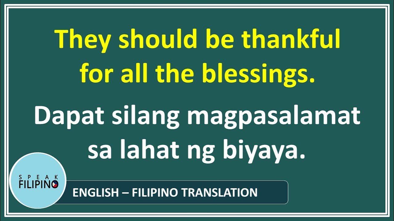 Short Filipino Phrases And Sentences Sila They English Tagalog Translation Https Mid Phrases And Sentences Tagalog Quotes Tagalog