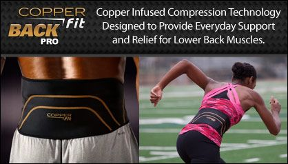 fde142989f Copper Fit Back Pro Compression Belt Free Shipping | Compression ...