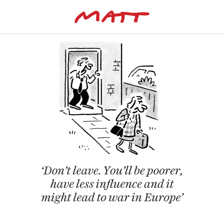 Matt cartoon Political satire art, Political satire, Brexit