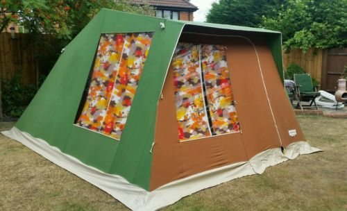 marechal-4-Retro-Frame-Tent-Late-70s | 캠핑 | Pinterest | Tents