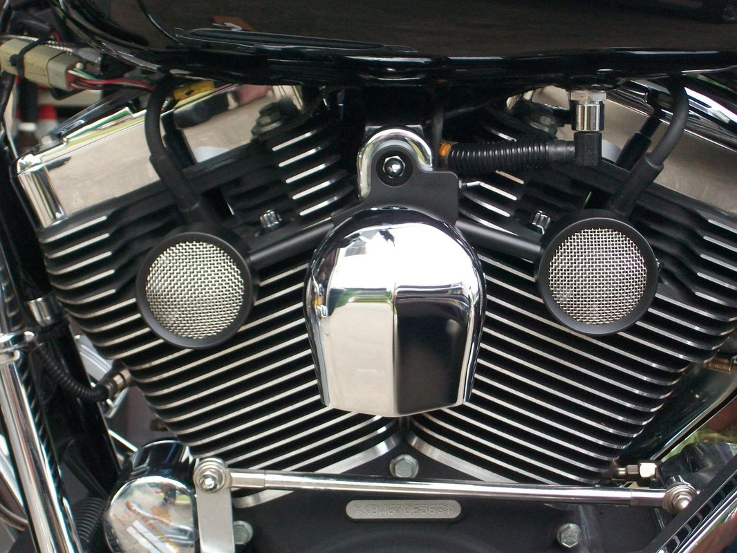 Harley Engine Cooler : Unique cooling fans for harley davidson