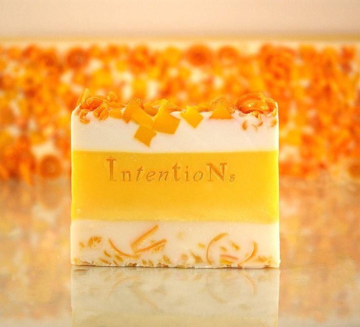 layered Soap | Yellow layered soap by Intentions