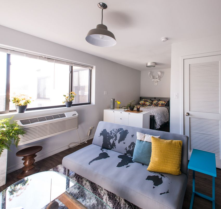 Studio Apartment: How To Live Large In A 500 Square Foot Studio Apartment