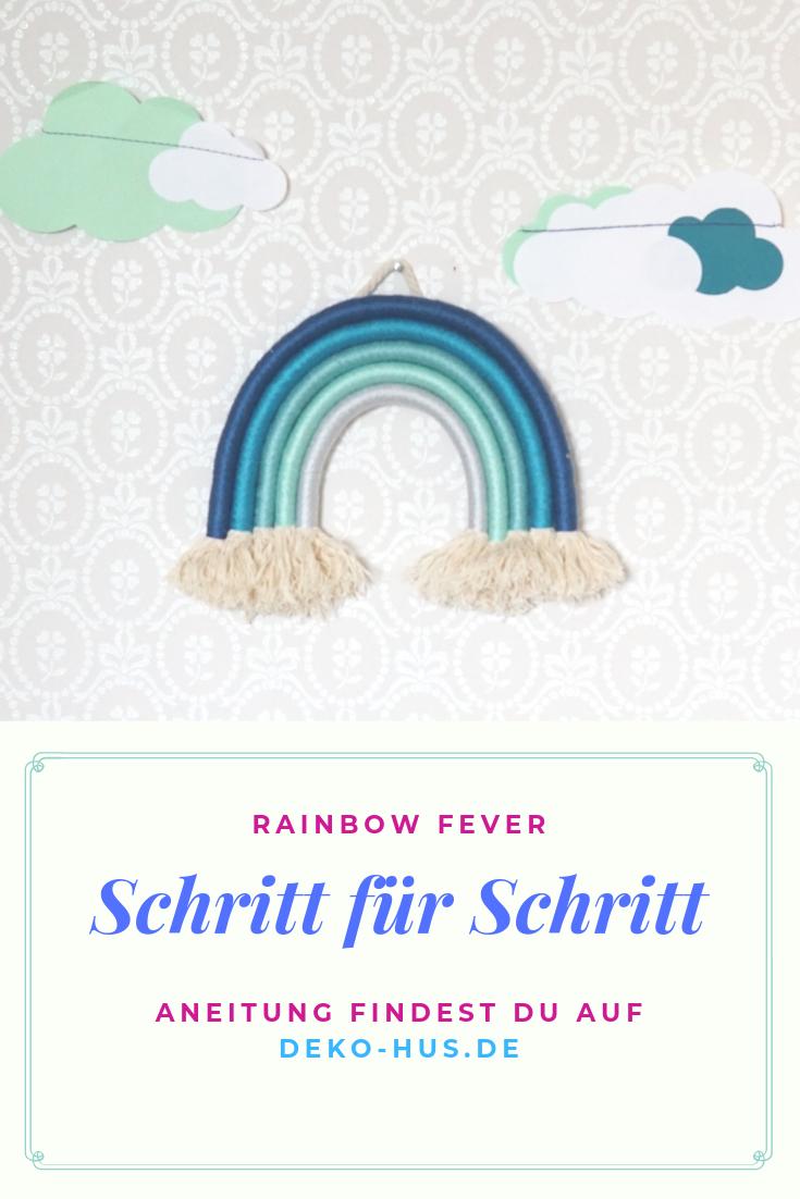 Photo of Machen Sie DIY Seil Regenbogen selbst – Deko-Hus