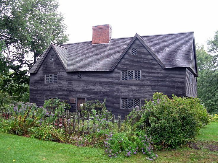 First Period Colonial Houses of the Massachusetts Bay