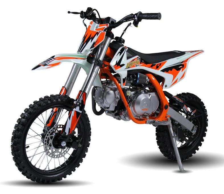 X Motos 110cc Dirt Bike Fully Auto E Start Dual Disc Inverted