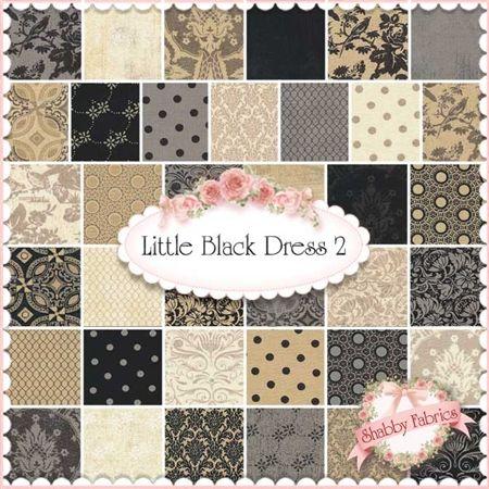 Little Black Dress 2 Charm Pack By Basicgrey For Moda Fabrics