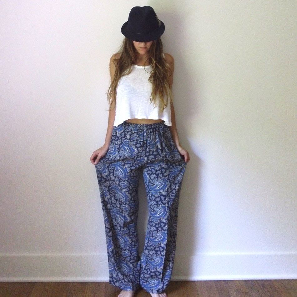 Loose Flowy Pants Outfit