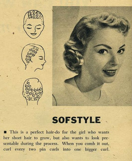 Awe Inspiring Various Roller Setting Patterns Vintage Hair Howtos Pinterest Short Hairstyles Gunalazisus