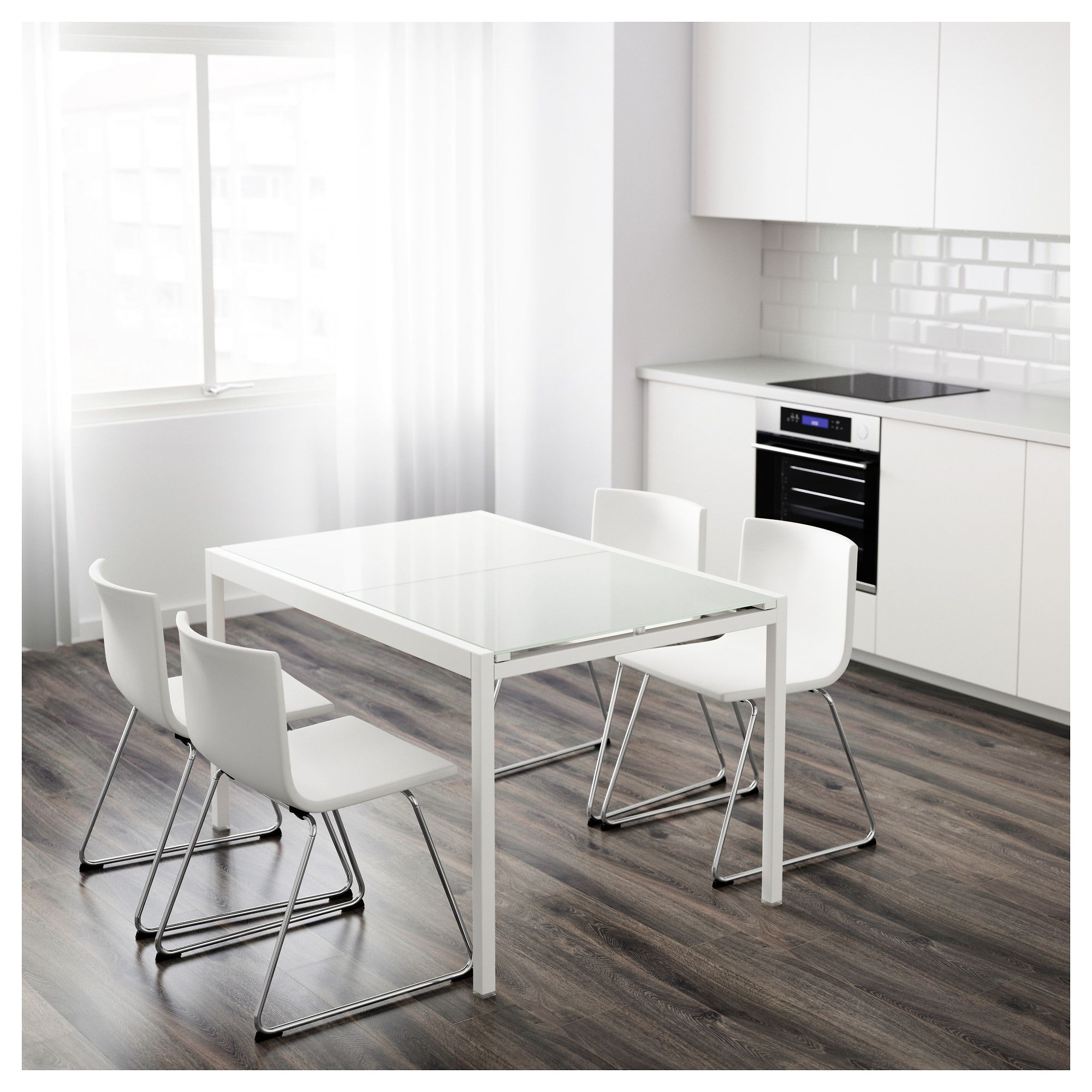 Table Cuisine Blanche Ikea Ikea Glivarp Extendable Table White Products Pinterest
