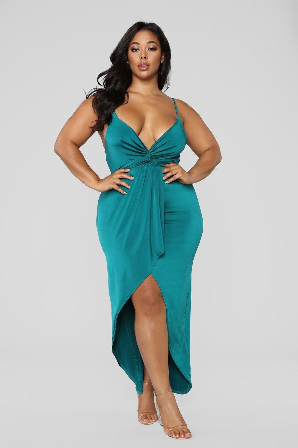 3eb505472f6 Plus Size Love Is Patient Ruffle Dress - Green $39.99 #fashion #ootd #outfit