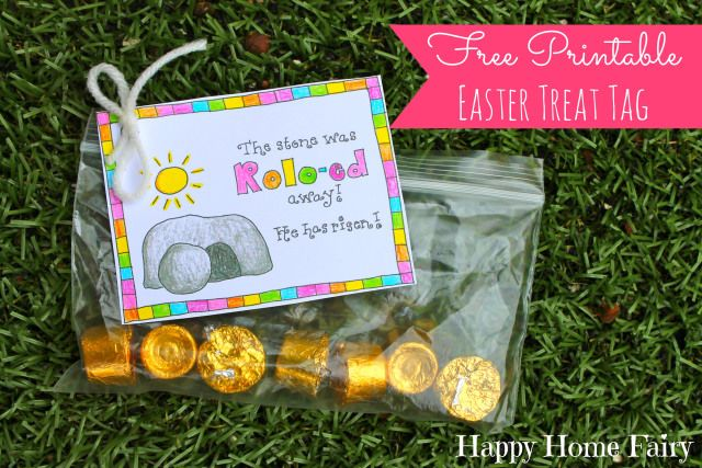 Free printable easter treat tag free printable easter and free free printable easter treat tag negle Images