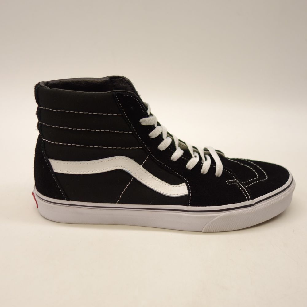 New Vans Mens Black White Skater High Top Lace Up Classic Canvas Shoes Size  10.5  VANS  HighTop 4223e524b