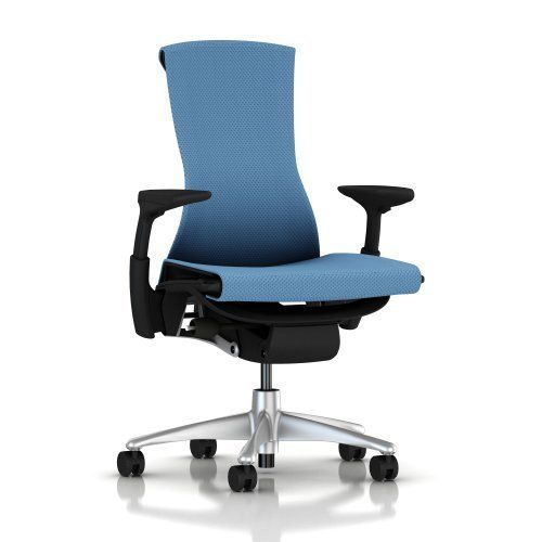 Embody Chair By Herman Miller Fully Adjustable Arms Graphite