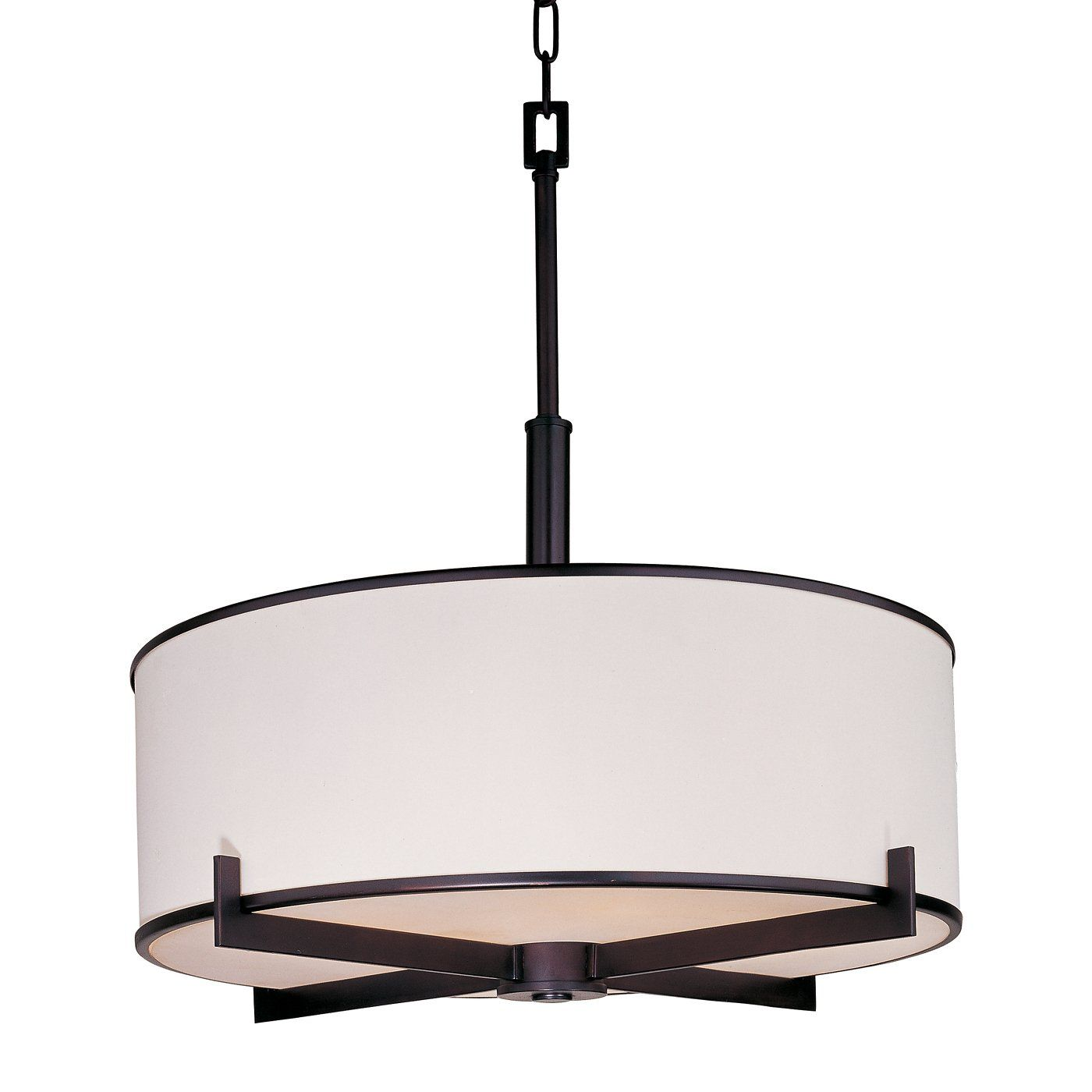 Maxim Lighting 12053Wt 4 Light Nexus Large Pendant  Lighting