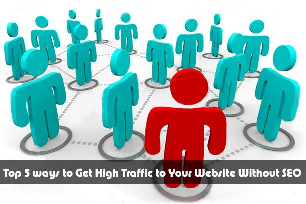 Top 5 ways to Get High Traffic to Your Website Without SEO
