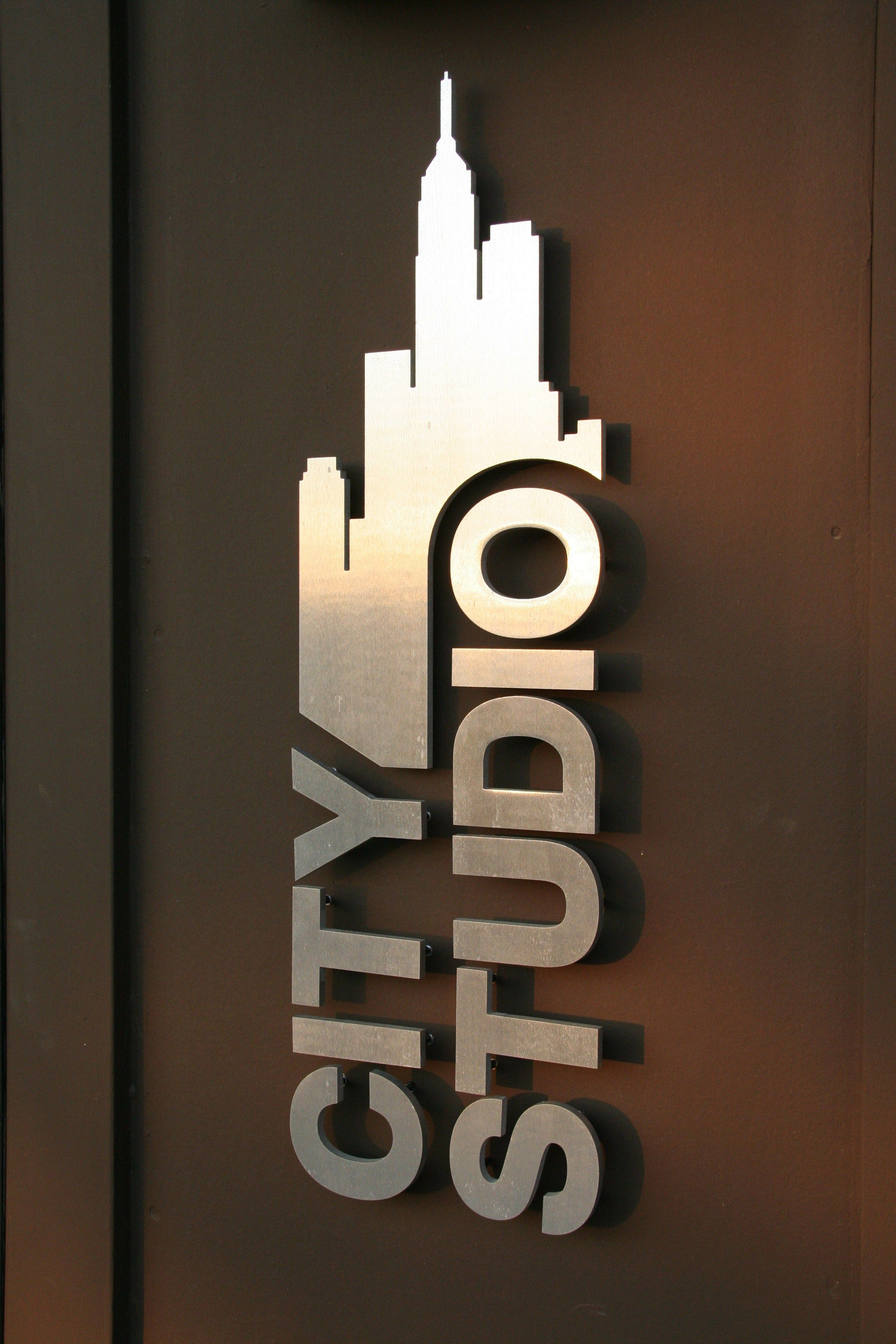 Carlson Design Maker Of Things Metal Signage Interior Signs Signage Design