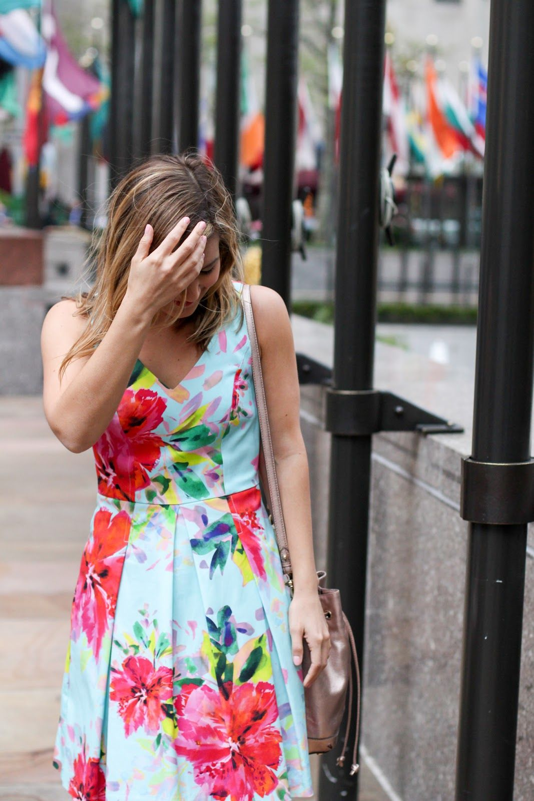 What I wore on The Today Show   Spring Florals