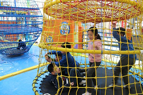 Jp Indoor Adventure Ropes Course Kids Playing Ropes Course What Is Play