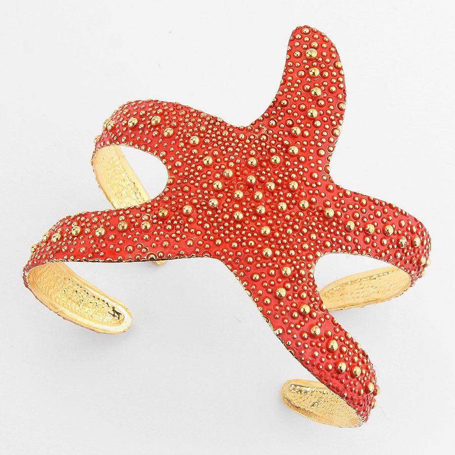 Gold Coral Starfish Bracelet: http://coastalbella.com/boutique/jewelry/coastal-bracelets $22.50