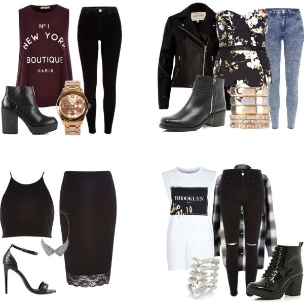 """Jesy Inspired Outfits from River Island"" by diva-from-above on Polyvore"