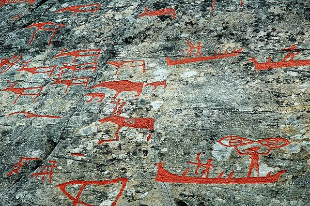 rock carvings of Norway | Rock carvings in Alta, Norway | Flickr - Photo Sharing!