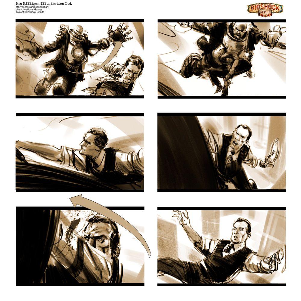 Dan Milligan Illustration Ltd Film  Game Samples  Dan Milligan