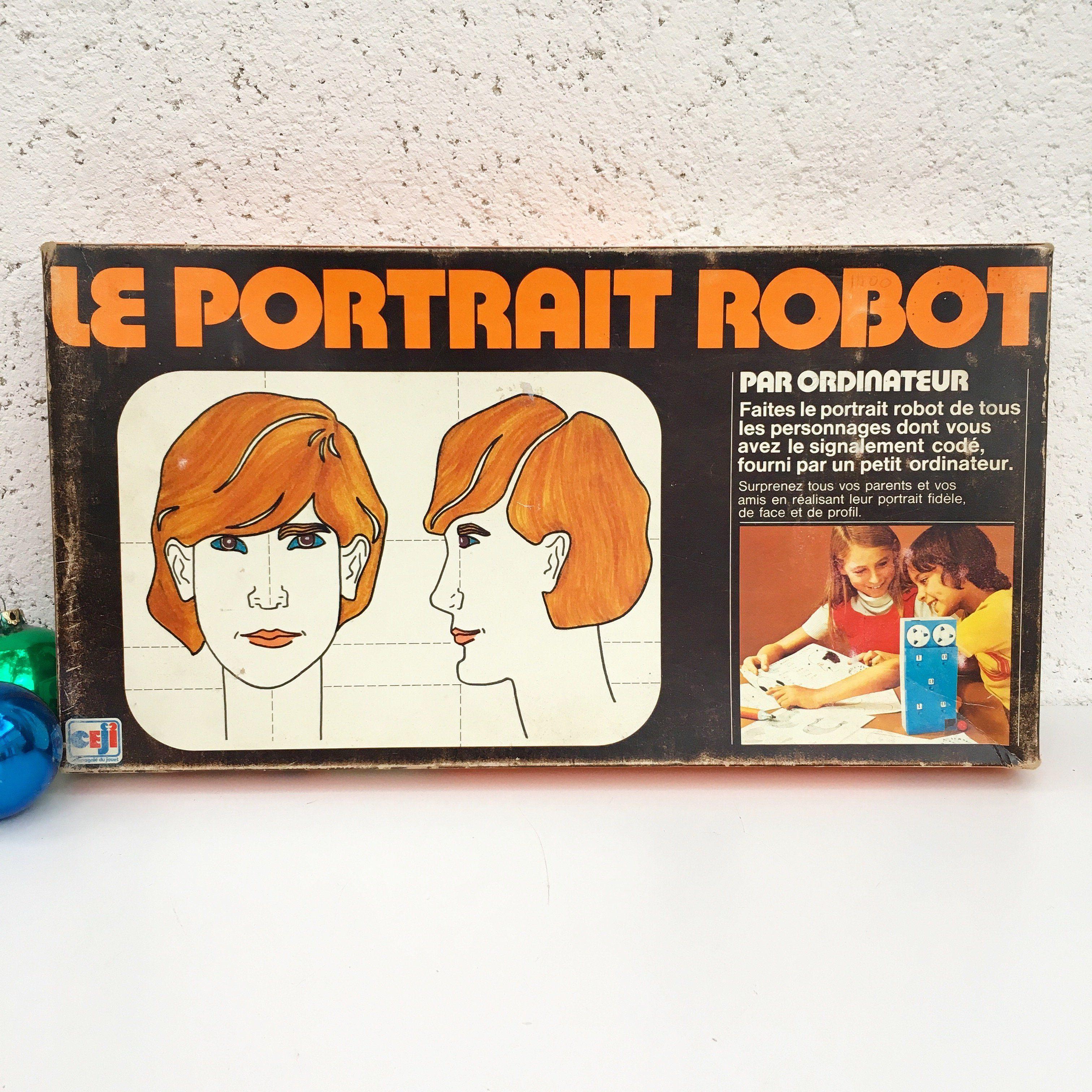 Orangevertevintage — Jeu Le Portrait Robot Vintage (avec ...