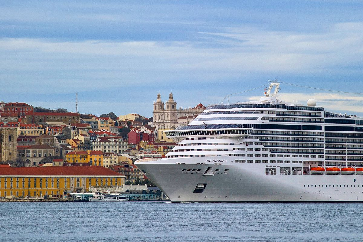 Lisbon. One of the most handsome European cities! Image thanks @msccruisesusa  #msccruises #lisbon @portu