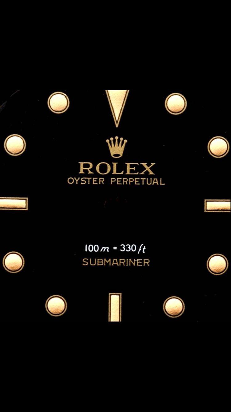 Submariner Rolex Apple watch custom faces, Apple watch