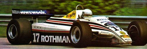 The 1982 March 821, Jochen Mass