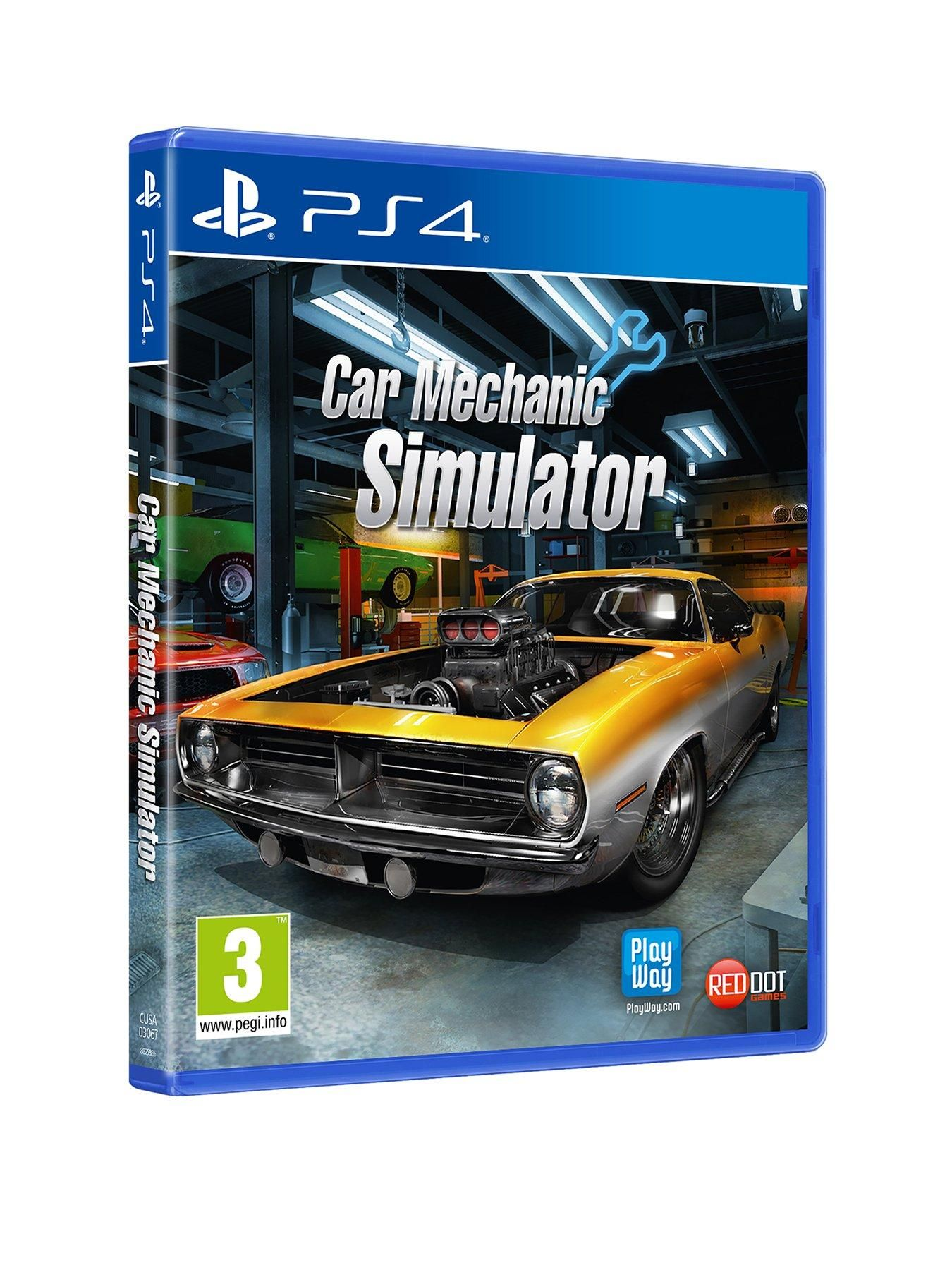 Car Mechanic Simulator Ps4 Car Xbox One Mechanic Shop