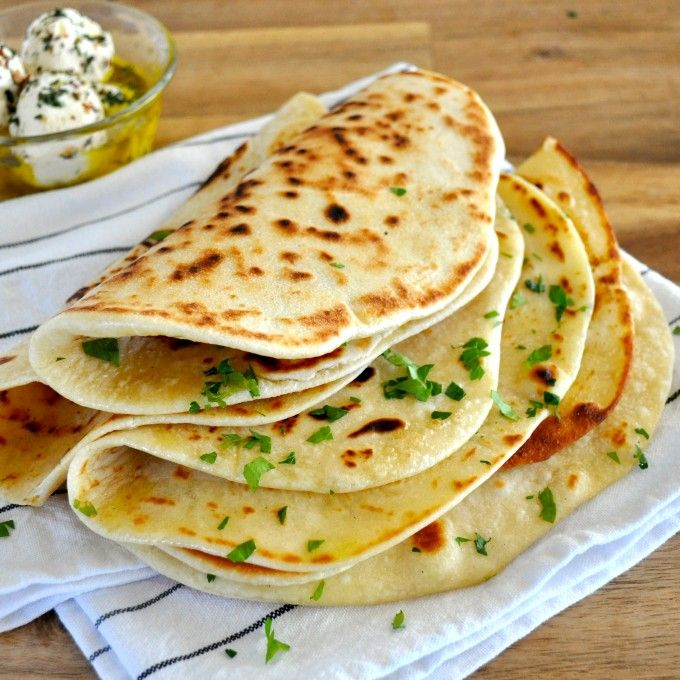 The only flatbread recipe you'll ever need! Soft and pliable, perfect for using as a wrap. No yeast, and hardly any kneading. Quick to make on stove or BBQ!