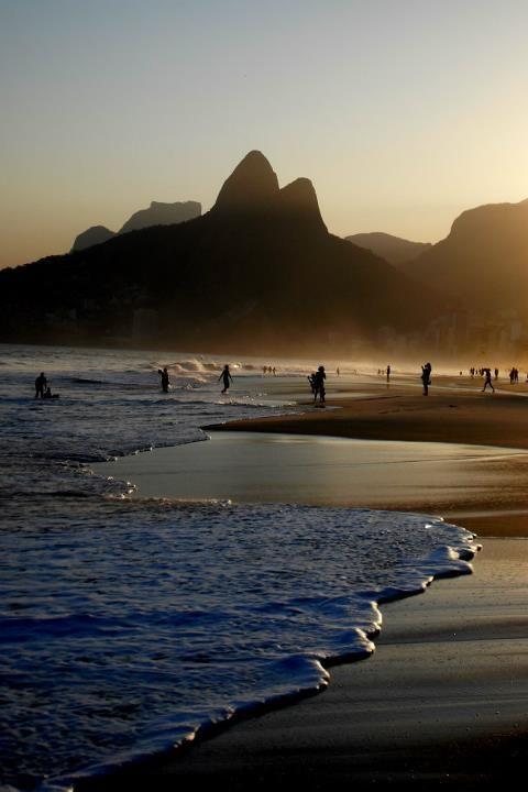 Ipanema Beach Sunset in my Rio.