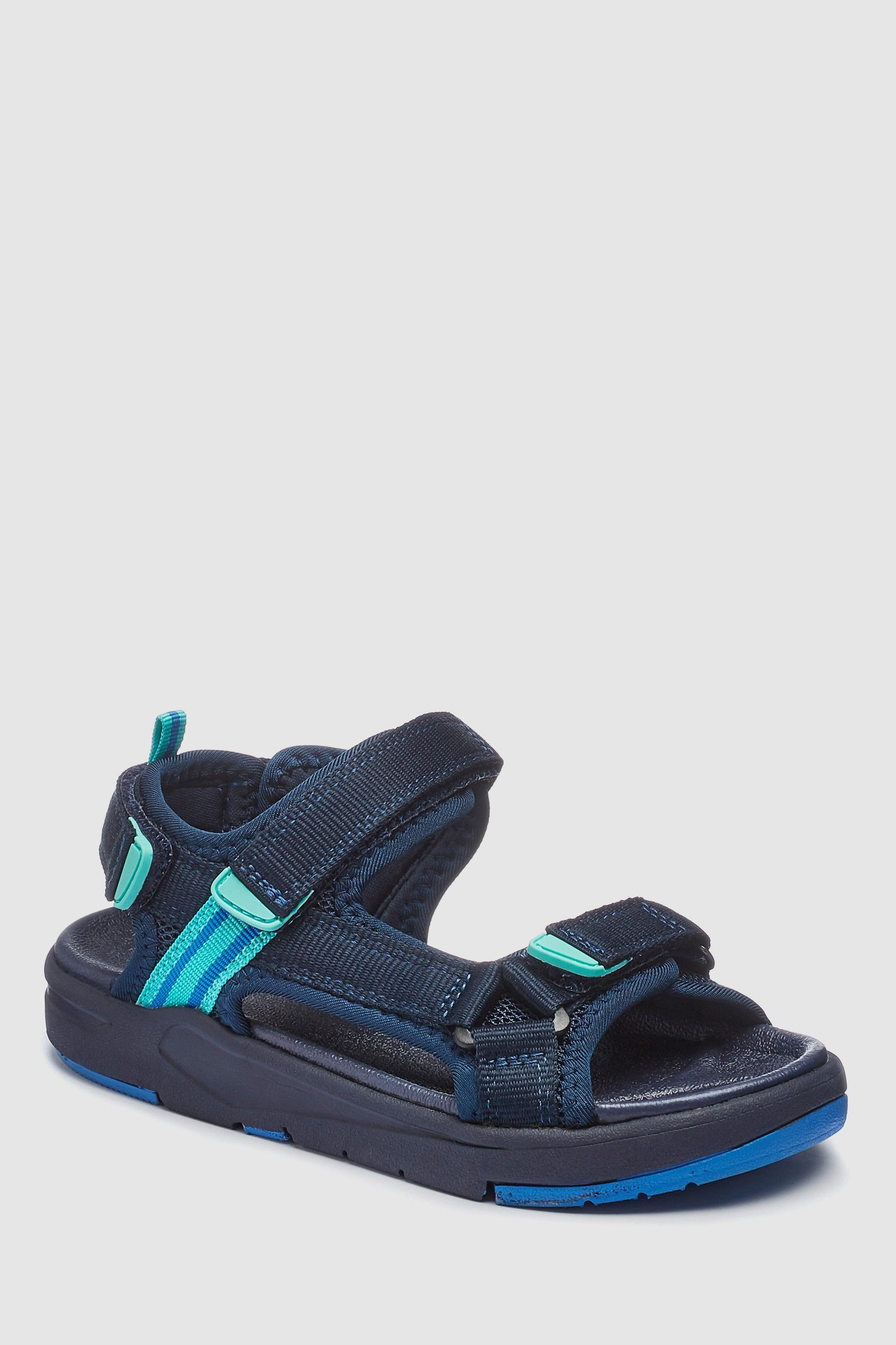 Boys Next Navy Chunky Trekker Sandals