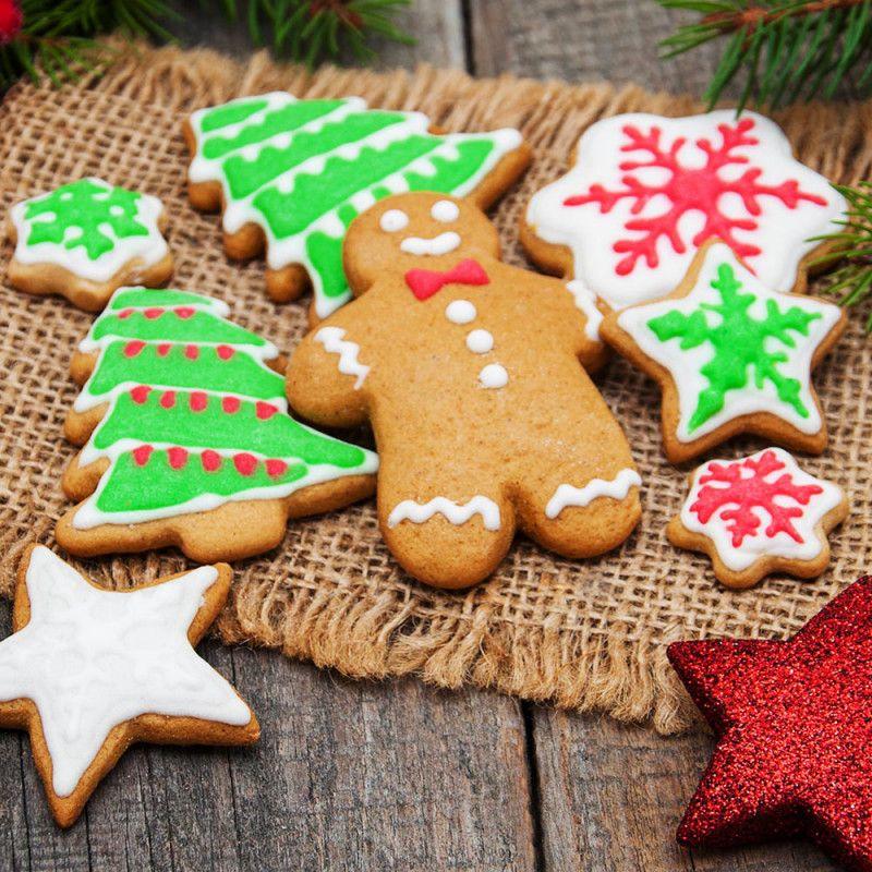 Receta Casera De Galletas De Jengibre Para La Navidad Galletas De Navidad Para Niños Recetas De Galletas De Navidad Galletas De Jengibre