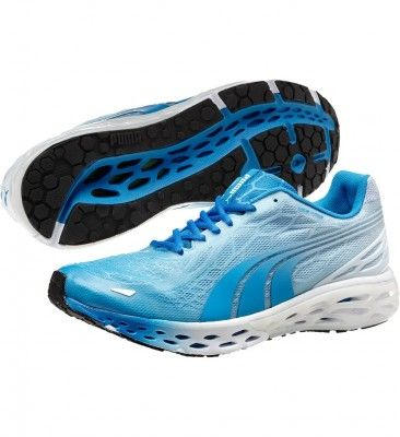 Tênis Puma Men s 186991-03 BioWeb Elite LTD Running Shoes White Brilliant  Blue  Tenis 91a13418e4a