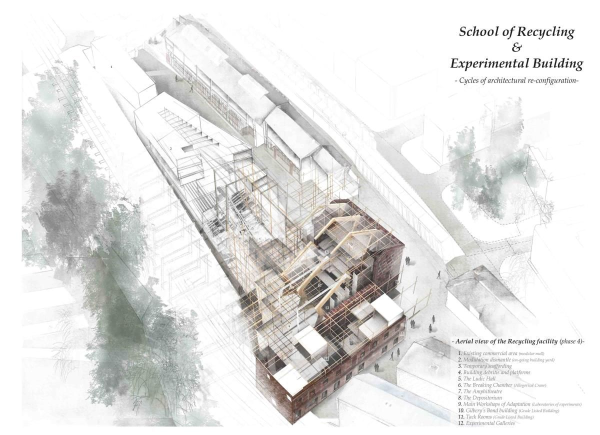 Presidents medals the school of recycling experimental building cycles of architectural re