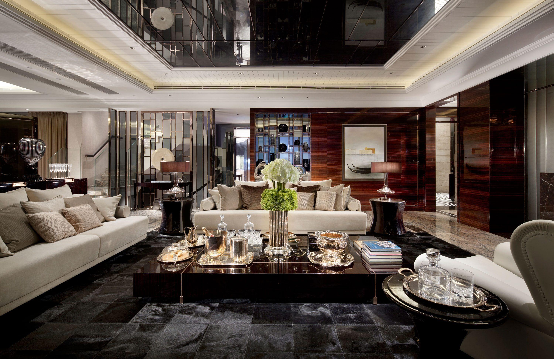 Luxury Mansions Living Room Inside Minimalist