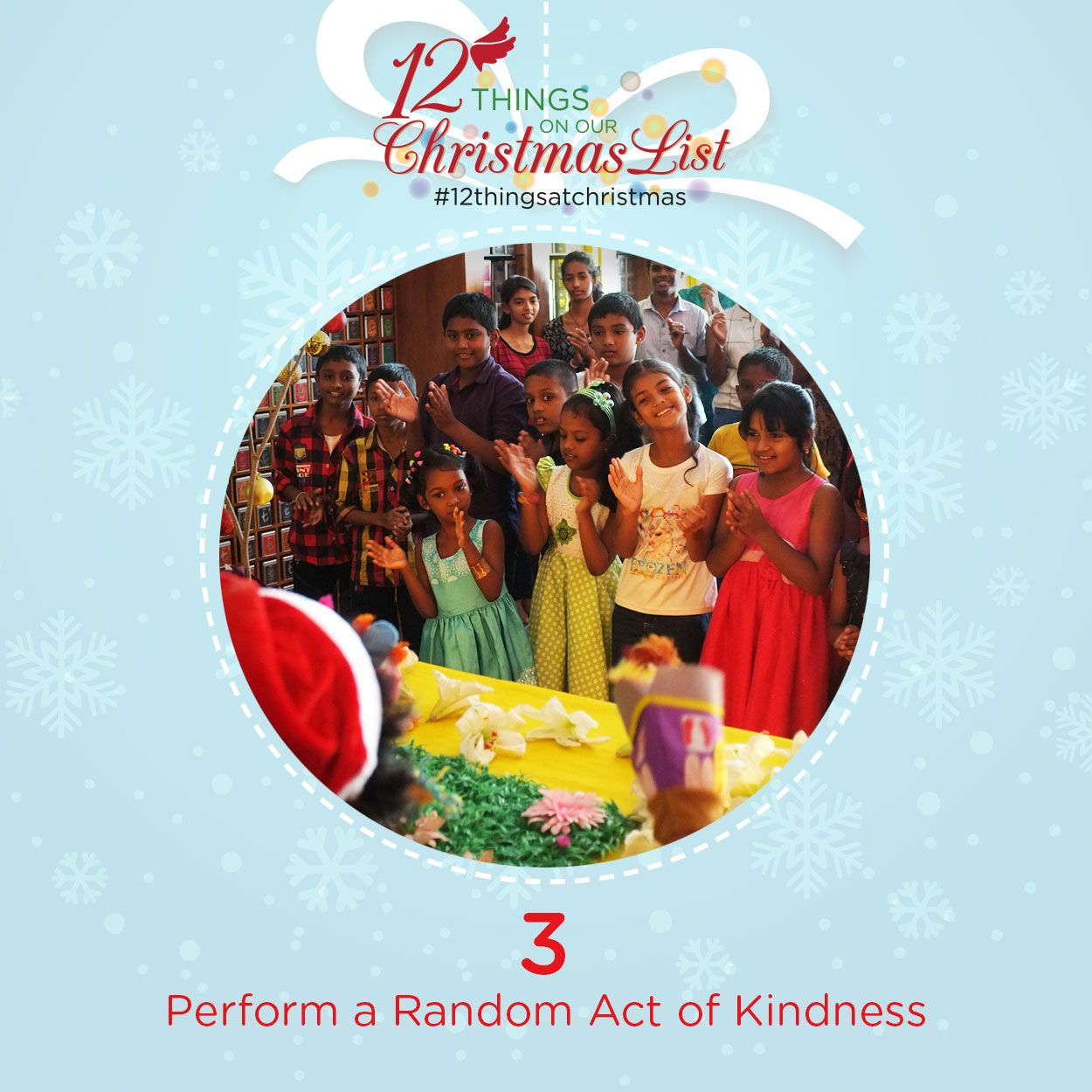 12 Things For Christmas A Random Act Of Kindness A Little Space In Colombo Lit Up With Laught True Meaning Of Christmas Meaning Of Christmas Christmas Carol