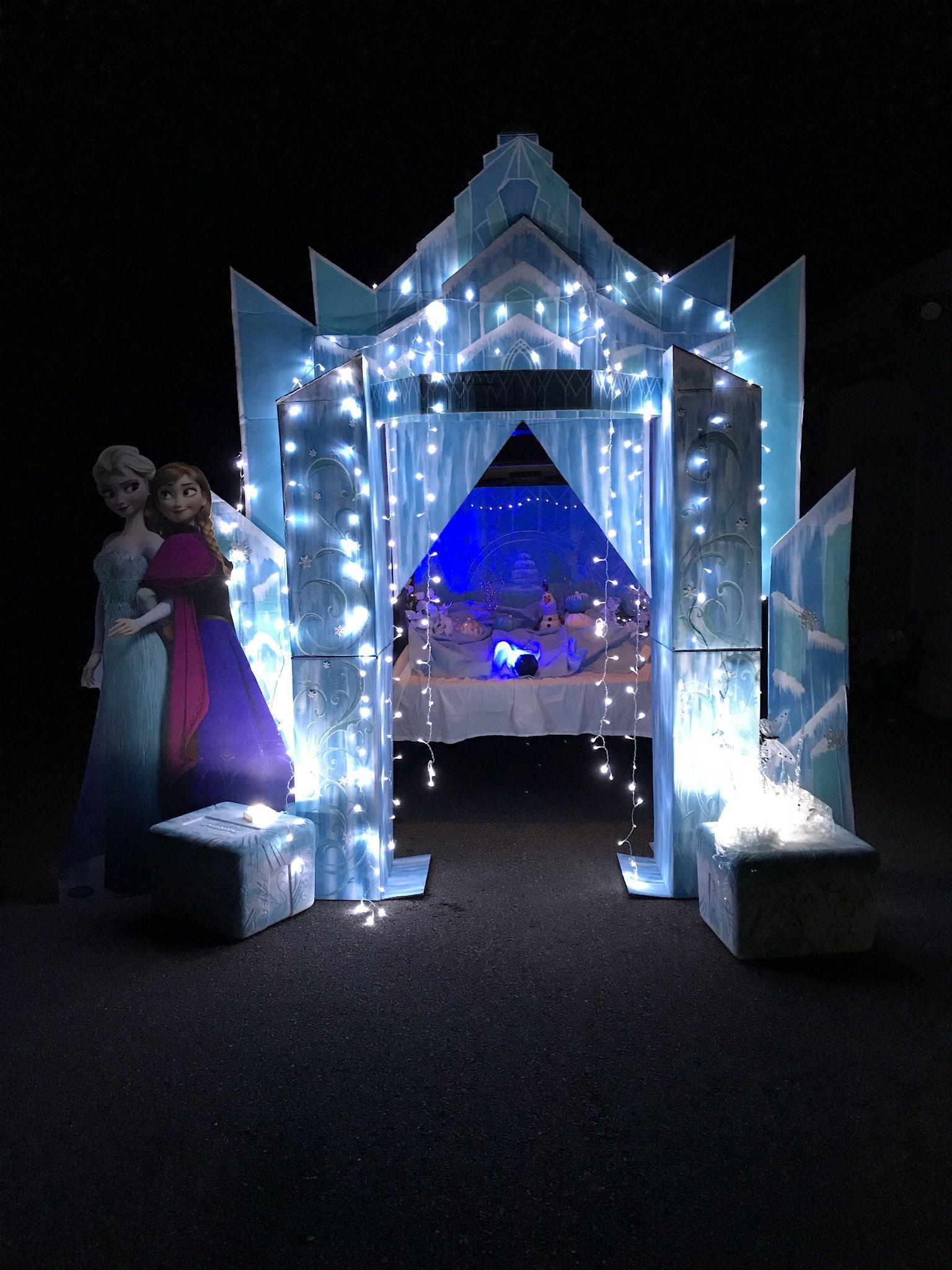 Frozen Trunk Or Treat In 2019 Frozen Halloween Frozen