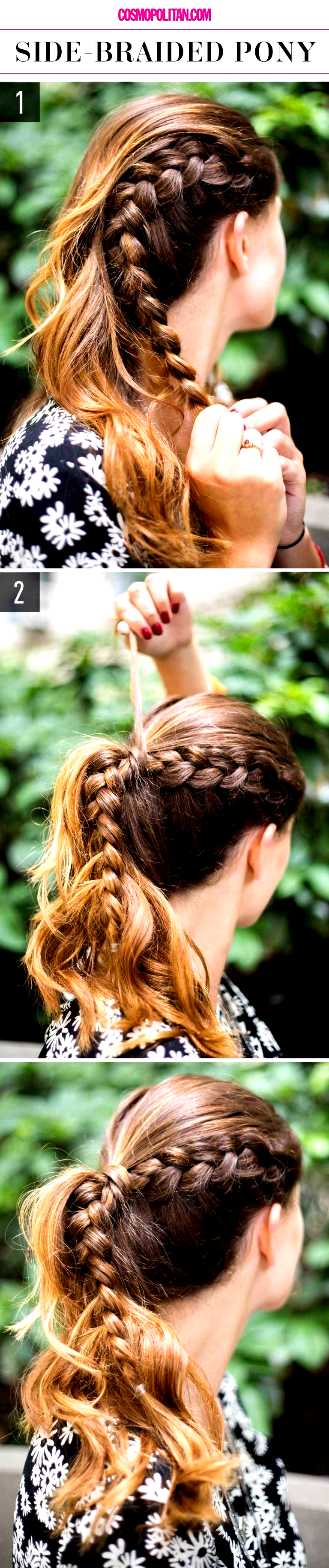 Photo of 15 Super-Easy Hairstyles for Lazy Girls Who Cant Even #hairstyles for school as….
