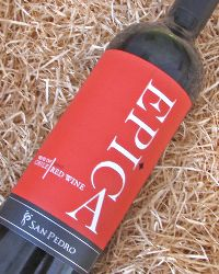 Epica Red Blend, Chile- Sweetly tannic, ripe grapes from Maipo, Colchagua and Maule Valley were used to compose this red blend of 90% Caberent Sauvignon, 5% Carmenere, and 5% Syrah. Strong notes of black plum and other slightly sweet summer fruits are detected, as well as cherry and dark cocoa.