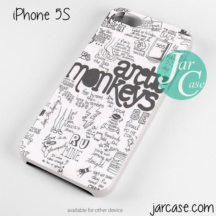 arctic monkeys quotes white Phone case for iPhone 4/4s/5/5c/5s/6/6 plus
