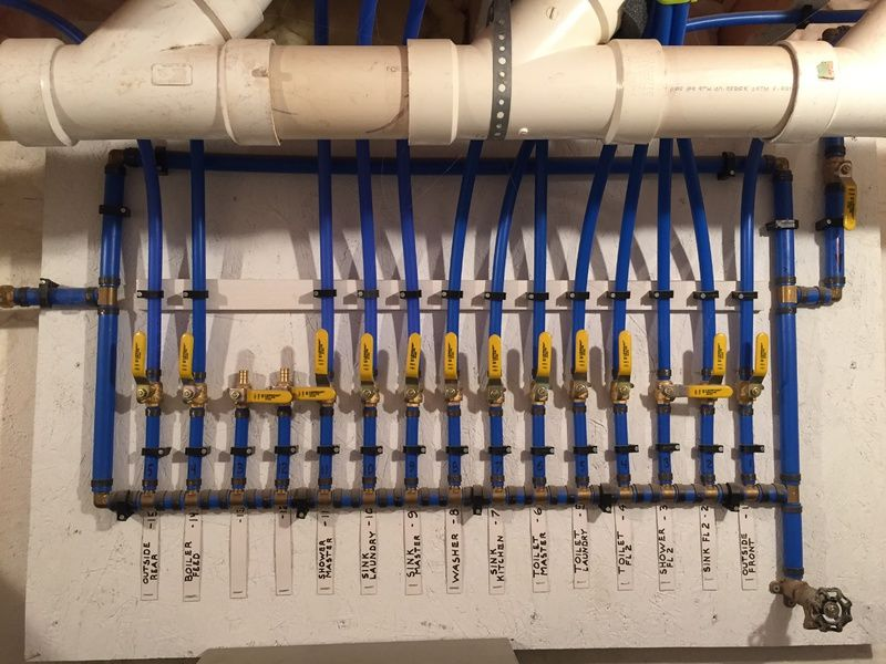Image Result For Best Pex Plumbing Manifold Pex Plumbing Plumbing Plumbing Drains