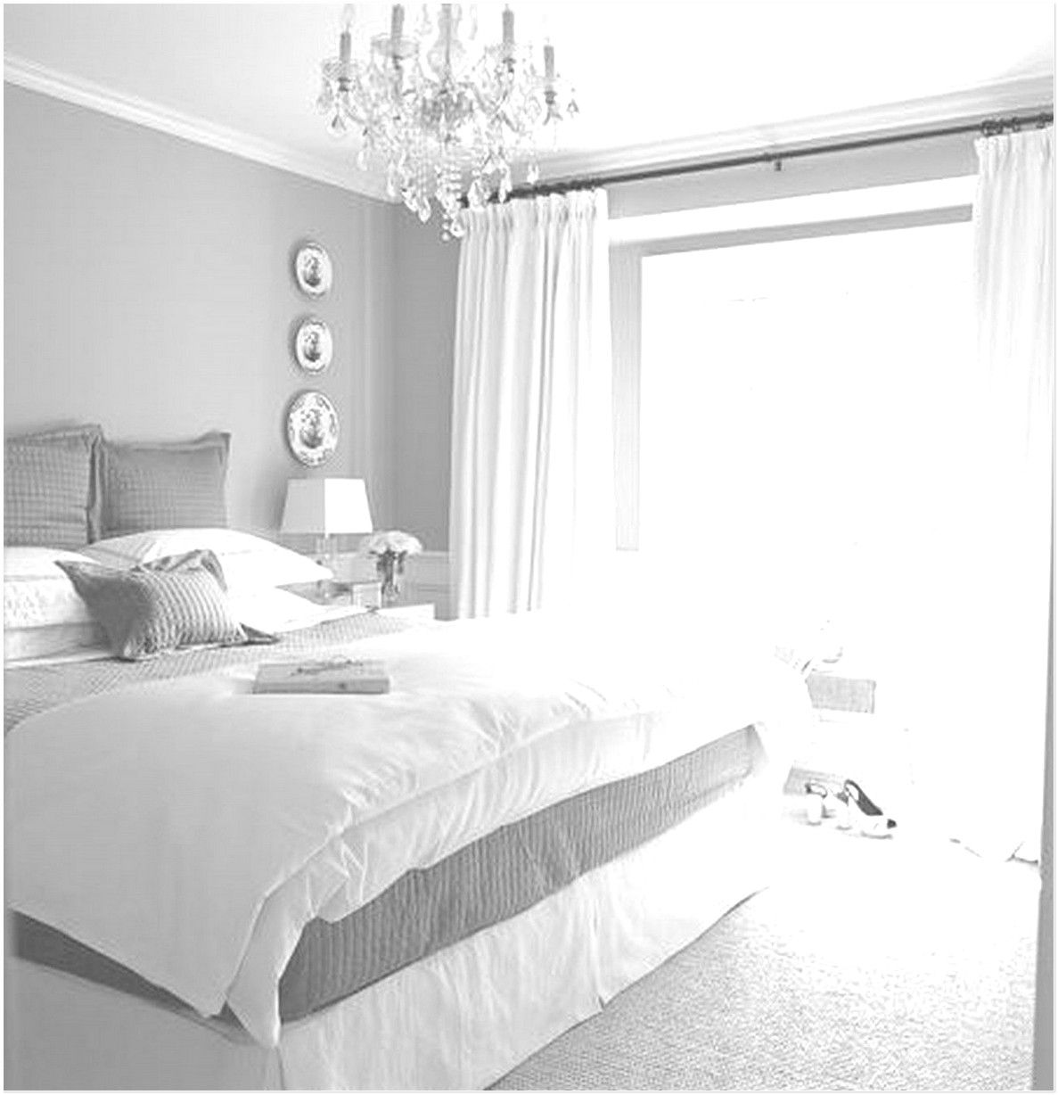 86 Images Of Simple Bedroom Decorating Ideas With Beautiful Color White Bedroom Grey And White Room White Master Bedroom