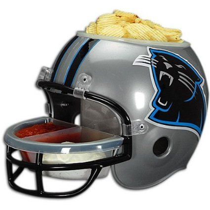 buy online 2f74d 5955c Amazon.com: NFL Carolina Panthers Snack Helmet: Sports ...